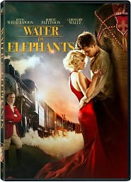 Water for Elephants starring Reese Witherspoon: DVD Cover