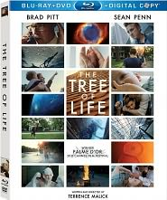 The Tree of Life starring Brad Pitt: Blu-ray Cover