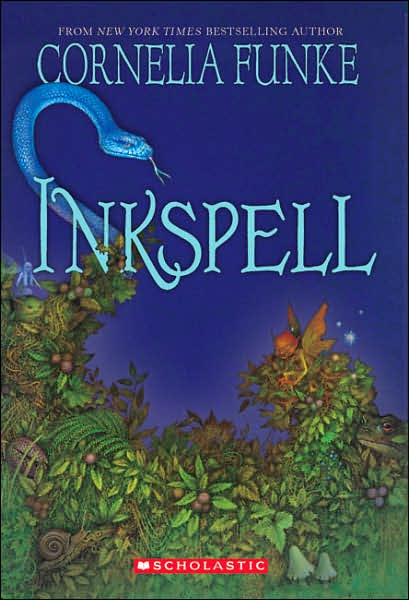 Inkspell (Inkheart Trilogy #2) book cover