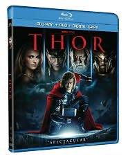 Thor Movie in Blu-ray