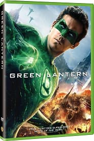 Green Lantern starring Ryan Reynolds: DVD Cover