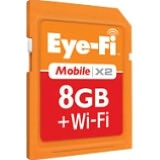Product Image. Title: Eye-Fi Mobile X2 EYE-FI-8MD 8 GB Secure Digital High Capacity (SDHC) - 1 Card
