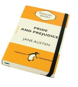 Product Image. Title: Pride and Prejudice Bound Lined Journal (3.5x5.75)