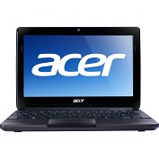"Product Image. Title: Acer Aspire One AO722-C62kk 11.6"" LED Netbook - AMD C-Series C-60 1 GHz - Diamond Black"