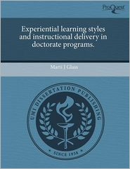 Experiential learning styles and instru...