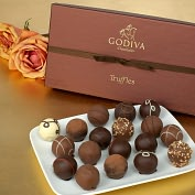 Product Image. Title: Godiva 18 Piece Truffle Assortment