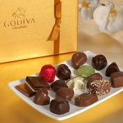 Product Image. Title: Godiva 19 Piece Gold Ballotin Assortment