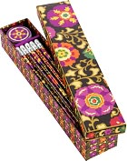 Product Image. Title: Vera Bradley Suzani Pencil Box - 10 Pencils and Sharpener