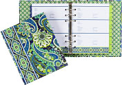 Product Image. Title: Vera Bradley Rhythm & Blues Paper Address Book