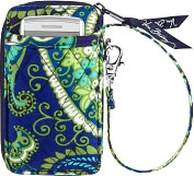 Product Image. Title: Vera Bradley Rhythm & Blues All in One Wristlet (3x5.25x.75)