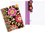 Product Image. Title: Vera Bradley Suzani Spiral Notebook Journal (6x8)