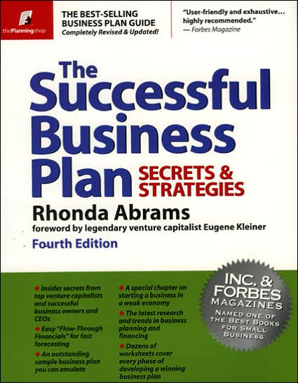 rhonda abrams business plan pdf
