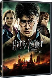 Harry Potter and the Deathly Hallows, Part 2 starring Daniel Radcliffe: DVD Cover