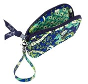 Product Image. Title: Vera Bradley Rhythm & Blues Tech Fabric Case (5X3.25X .5)