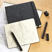 Product Image. Title: Moleskine Drawing Set Gift Box