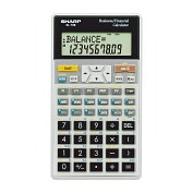 Product Image. Title: Sharp EL-738C Financial Calculator