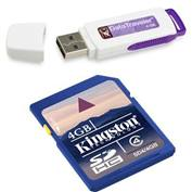 Product Image. Title: Combo pack 4GB DTI USB and 4GB