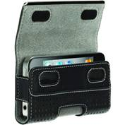 Product Image. Title: Elan Holster Metal Case for iPhone 4 in Black Perforated