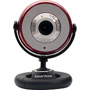 Product Image. Title: Gear Head WC750RED Webcam - 1.3 Megapixel - Red - USB 2.0