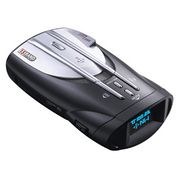 Product Image. Title: Cobra XRS 9845 Voice Alert 15-Band Radar/Laser Detector