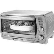Product Image. Title: Oster TSSTTVSKBT Six Slice Toaster Oven
