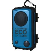 Product Image. Title: Grace Digital Eco Extreme GDI-AQCSE102 Carrying Case for Speaker System - Cobalt Blue