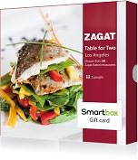 Product Image. Title: Zagat Table for Two Gift Card - Los Angeles Edition