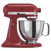 Product Image. Title: KitchenAid� KSM150PSER Artisan� Series 5-Quart Tilt-Head Stand Mixer, Empire Red