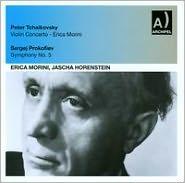 Violin Concerto: Erica Morini (CD) ~ Tchaikovsky Cover Art