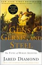 Guns, Germs, and Steel -- Picture taken from barnesandnoble.com