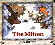 The Mitten by Jan Brett: Book Cover