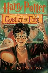 Harry Potter and the Goblet of Fire, fourth in the J. K. Rowling series.