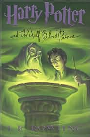 Harry Potter and the Half Blood Prince, fifth in the J. K. Rowling series.