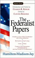 The Federalist Papers by Hamilton Hamilton: Book Cover