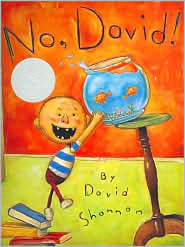No, David! by Shannon: Book Cover