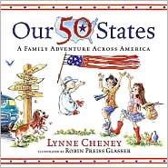 Our 50 States by Lynne Cheney: Book Cover