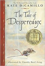 The Tale of Despereaux by Kate DiCamillo: Book Cover