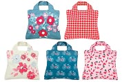 Product Image. Title: Cherry Lane Reusable Tote Bags, Set of 5
