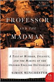 Professor and the Madman by Simon Winchester: Book Cover