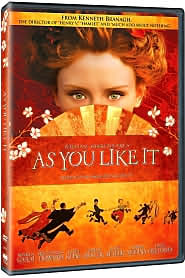 As You Like It starring Brian Blessed: DVD Cover