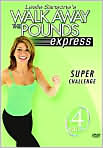 Video/DVD. Title: Leslie Sansone - Walk Away the Pounds Express Super Challenge
