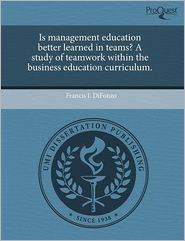 Is Management Education Better Learned ...