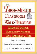 Three-Minute Classroom Walk-Through: Book Cover