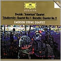 CD Cover Image. Title: Dvorak, Tchaikovsky, Borodin: String Quartets, Artist: Emerson String Quartet