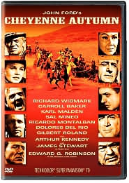Cheyenne Autumn starring Richard Widmark: DVD Cover