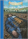 Book Cover Image. Title: Gulliver's Travels (Classic Starts Series), Author: by Jonathan Swift