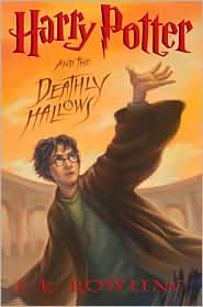 Harry Potter and the Deathy Hallows, fifth in the J. K. Rowling series.