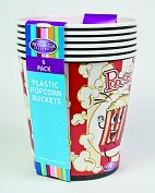 Product Image. Title: Nostalgia Electrics PPB-600 4-Quart Popcorn Buckets - 6-pack