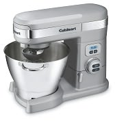 Product Image. Title: Cuisinart SM-55BC 5.5 Quart Stand Mixer - Brushed Chrome
