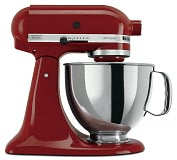 Product Image. Title: KitchenAid KSM150PSGC Artisan Series 5-Quart Tilt-Head Stand Mixer - Gloss Cinnamon